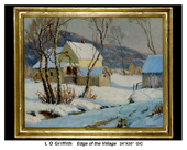 Edge of the Villiage - Louis O. Griffith