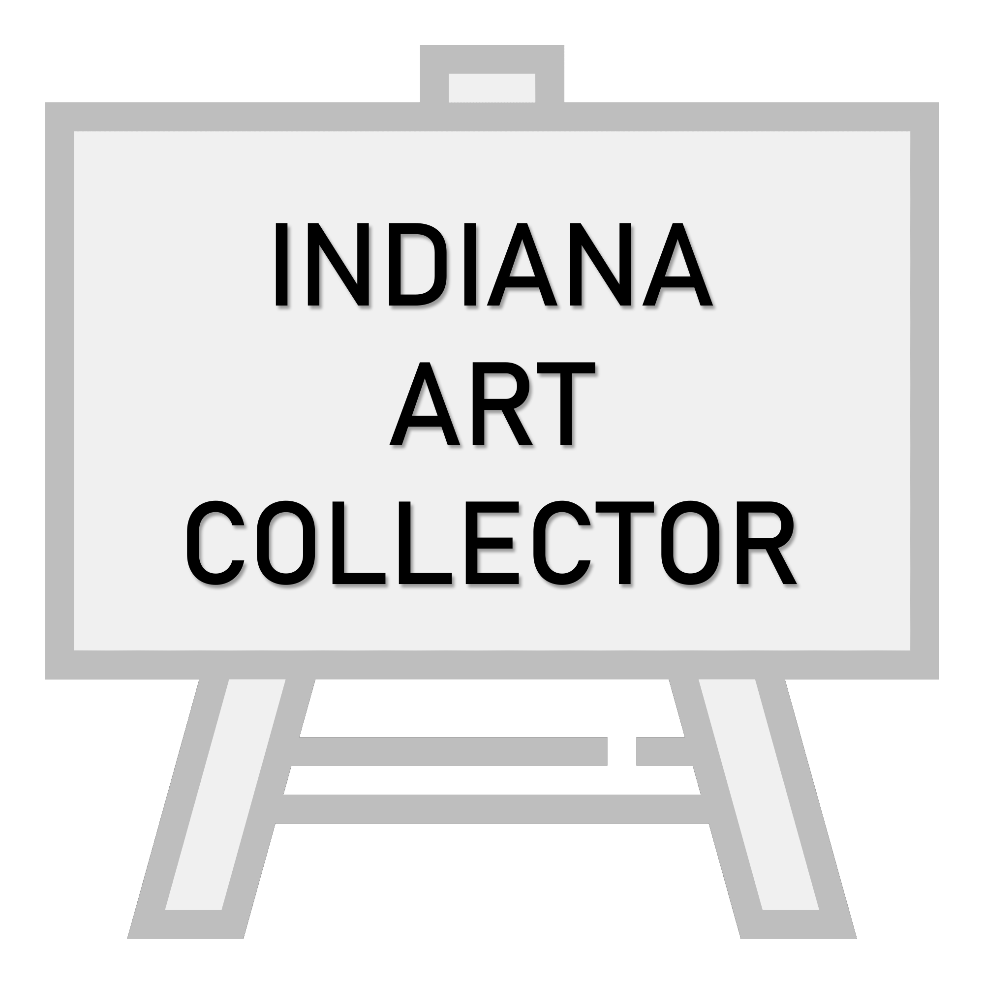 Indiana Art Collector - High Quality Logo